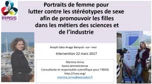 Présentation des témoignages en présence des acteurs des élèves et des enseignants du lycée Déodat de Séverac à Céret le mercredi 22 mars. Labo Arago de Banyuls-sur-mer