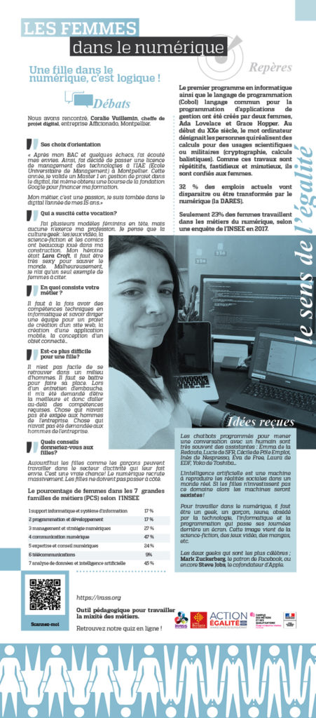 EXPO IRASS: les femmes dans le numérique
