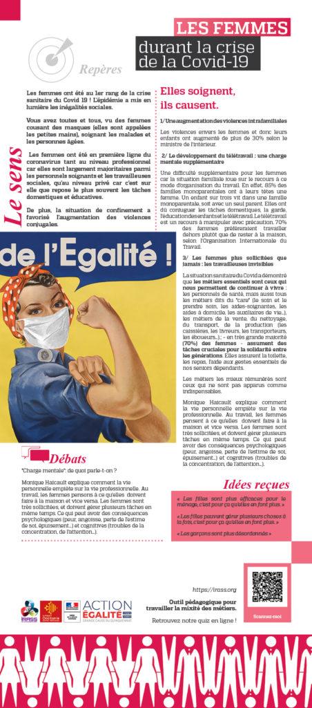 Panneau exposition le sens de légalité - Rosie la Riveteuse